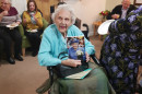 Open '100-year-old parishioner reads lesson '
