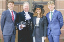 Open Well-known Christian becomes High Sheriff
