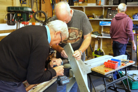 Open Men in sheds project builds community spirit
