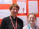 Open 'Rev Liz Shercliff visits A level group'