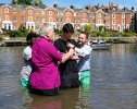 Open 'Christ Church Chester's Baptism service'