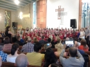 Over 200 parents and families filled the church