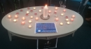 The table of Advent light