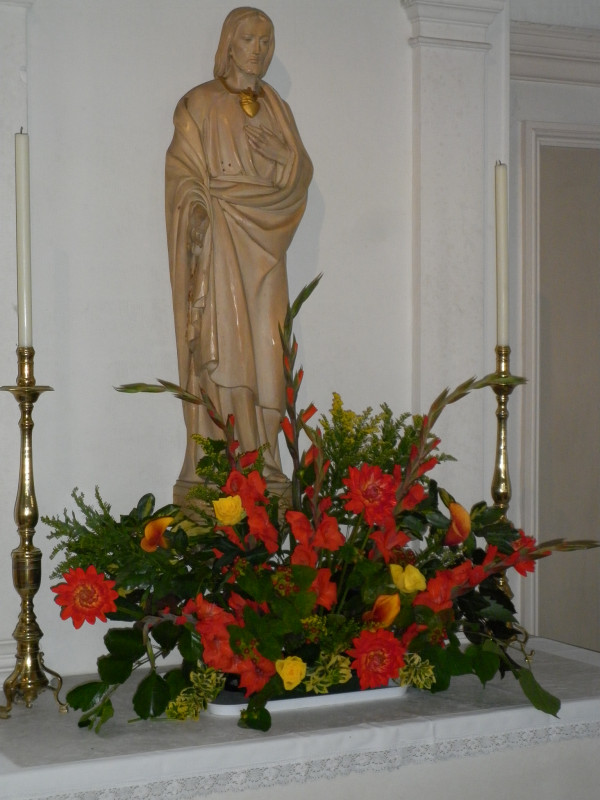Flowers - Anniversary Mass, July 2014