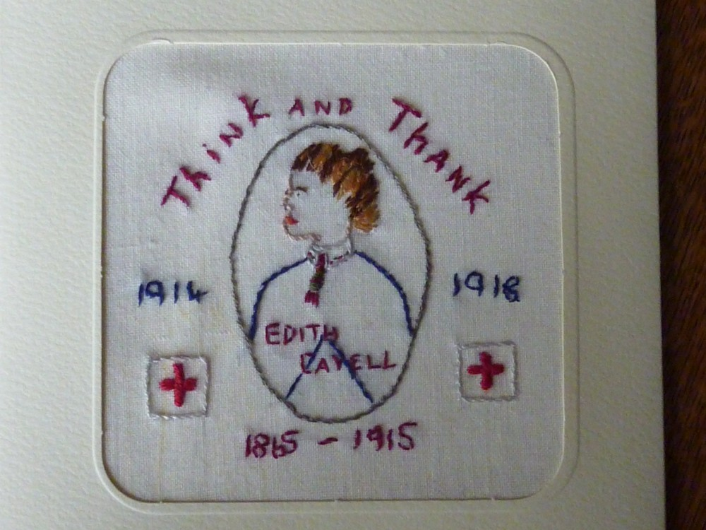 Edith Cavell card