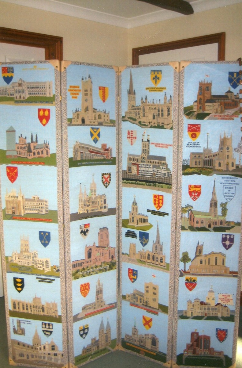 1,00 years of cathedrals panel