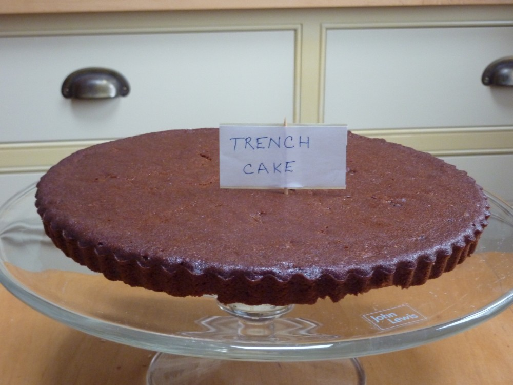 Trench cake
