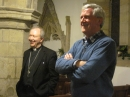Bishop James Bell with Churchwarden Ian Black
