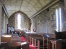 Aldbrough church interior