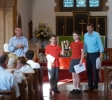 Chandler leavers' service