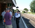 Mens Group on Watercress Line