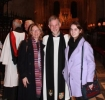Rev Canon Andrew Marsden and proud family