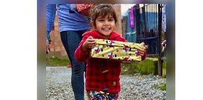 Open Shoebox appeal from Evesham charity