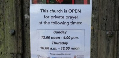 Open Opening our churches for prayer