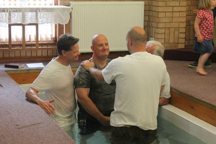 baptism immersion Adult