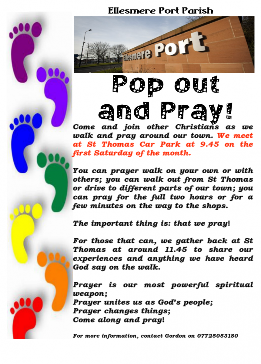 St Thomas Church | Pop Out and Pray