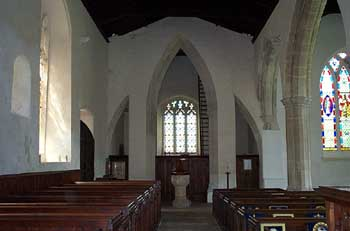 West nave and tower arch