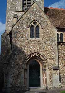 South-west porch