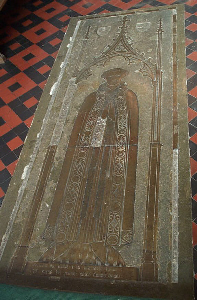 Brass of William de Fulbourn