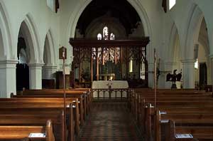 St. Vigor's nave