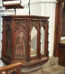 St. Vigor's pulpit