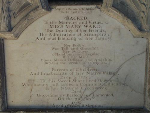 Ward memorial