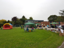 Community BBQ and stalls