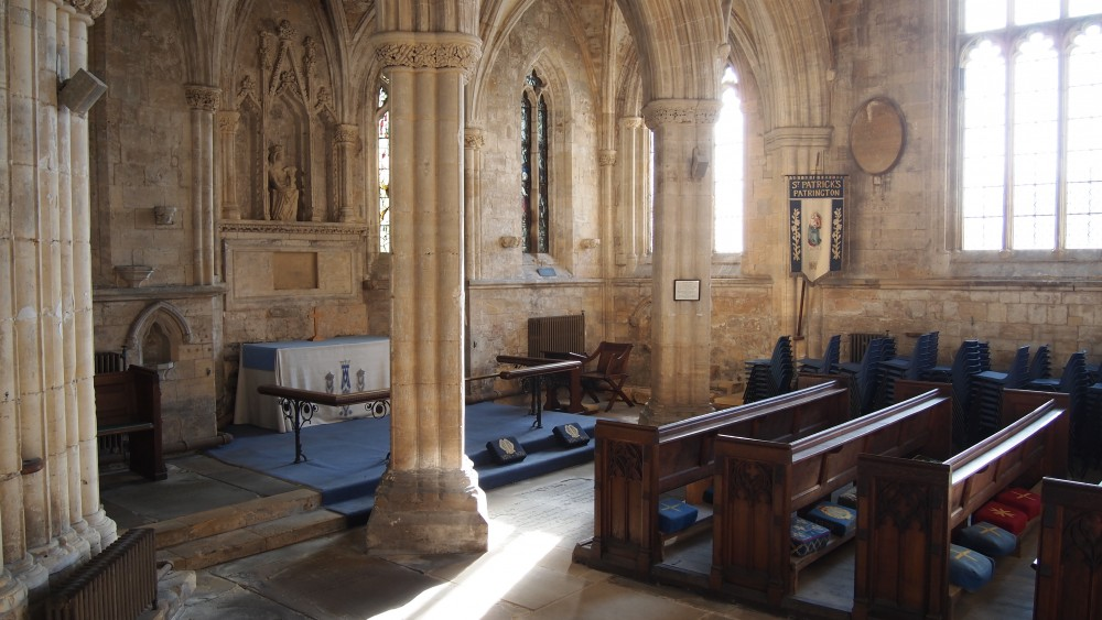 The South transept abd Lady chapel