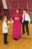 Bishop Norman with Oliver and Daniel Rason