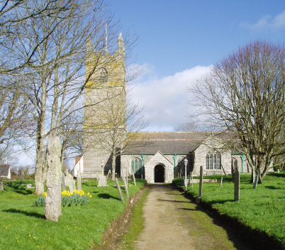 St Sithney Church