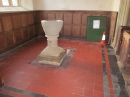 The font & baptistry