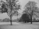 Snow scene in Goodmayes Park