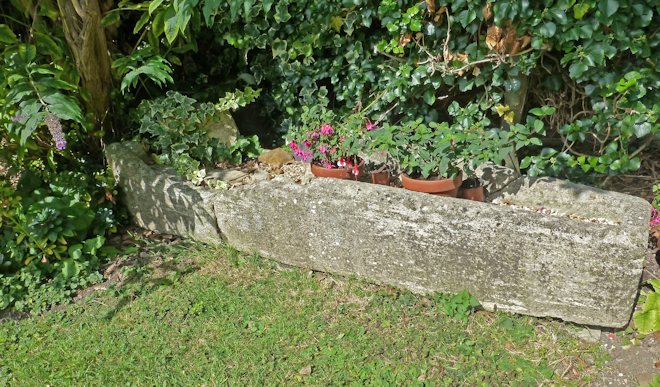 Towcester Chantry House Stone Coffin