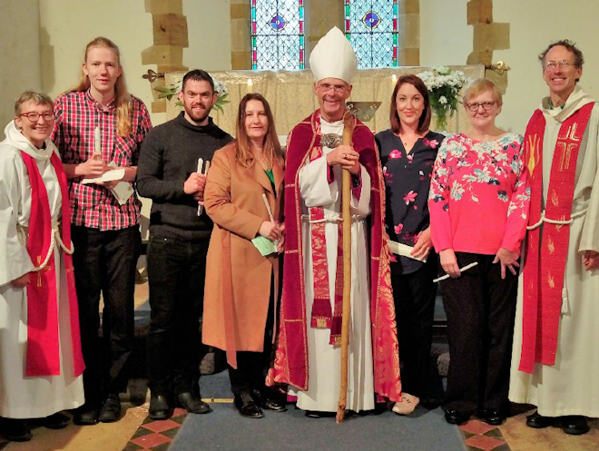 Baptism and Confirmation Service at Bradden