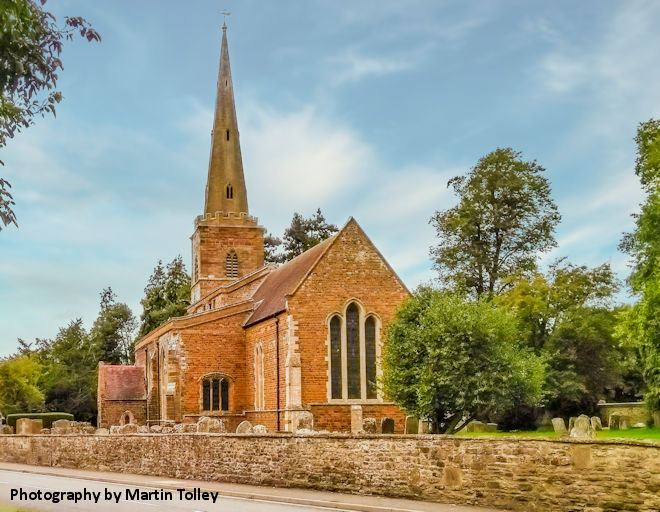 St Bartholomew, Greens Norton by Martin Tolly