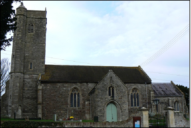Photo of Wick St Lawrence church