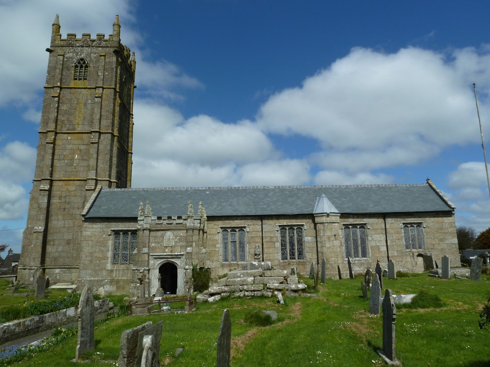 image of St Buryan church