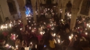 Christingle service in church