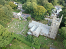 Click here to view the 'Aerial views of Ladock Church' album