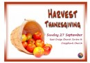 Open 'Harvest Thanksgiving - what you might bring'