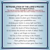 Open 'The Lord's Prayer translated from Aramaic'