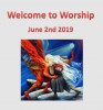 Open ' Order of Service and Intimations 2 June'