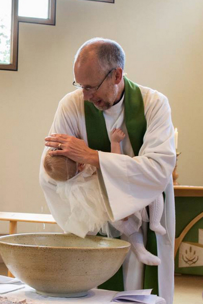 Baptism in St Andrew's New Church