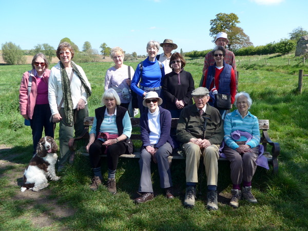 Photo of Amblers taking a rest on a walk