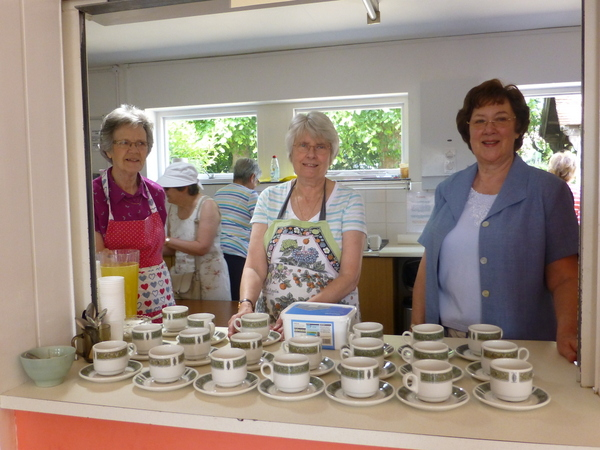 Photo - Serving tea and coffee in the Church Hall