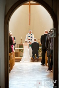 Wedding in St Andrew's New Church