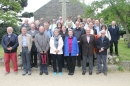 Deanery Synod members outside St Peter's Church