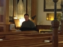 Another picture of Kevin at the organ
