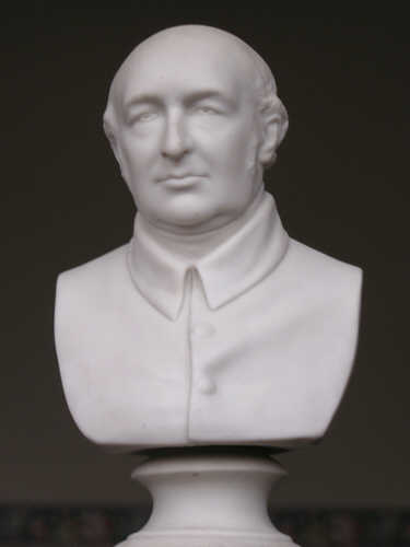 Rev Robert Hall - bust in RHMBC
