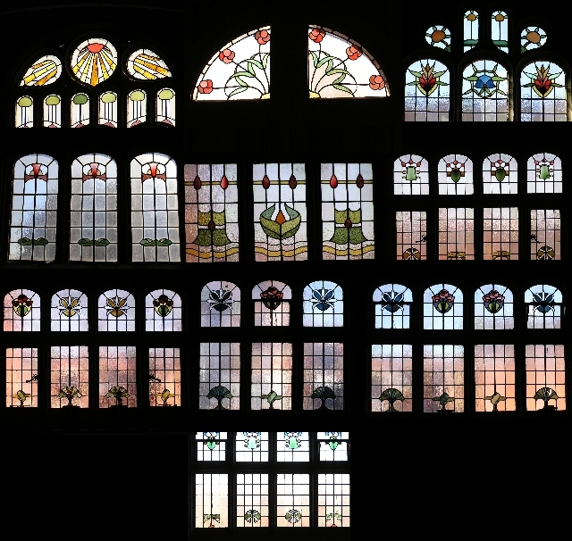 stained glass (composte picture)